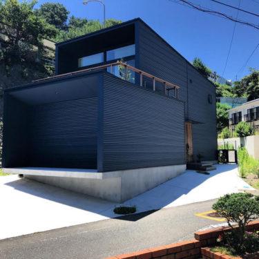 外壁:ガルバリウム鋼板の家 5選