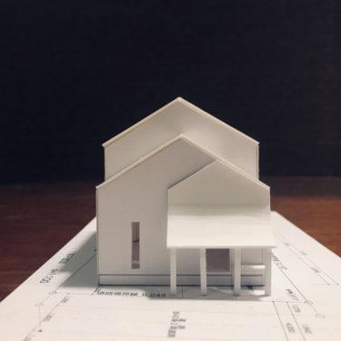 白模型 設計事務所のスタディ模型づくり