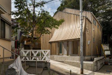 橫浜山手の家 木の外壁 2019#327